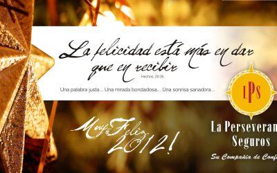 ¡ Muy Feliz 2012 !