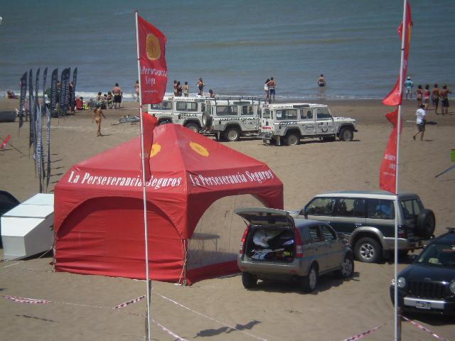 Evento de Kite Suft en Claromecó