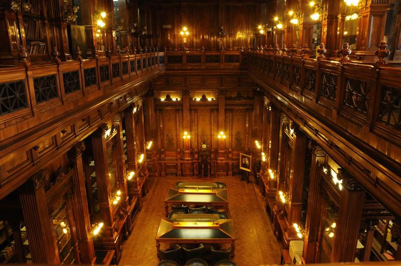 La Perseverancia asegura la Biblioteca del Congreso de la Nación