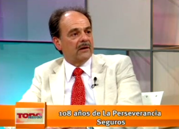 """Entrevista a Jorge Castiñeira, programa """"Todo Riesgo"""""""
