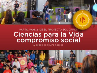 """Responsabilidad Social Empresaria – """"Proyecto Solidario Ciencias para la Vida"""" – Felipe Areces"""