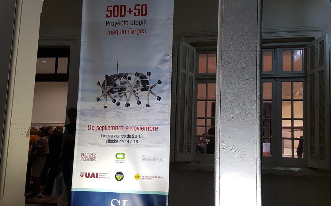 Acompañando a la muestra 500+50 en San Isidro