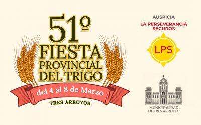La Perseverancia presente en la 51º Fiesta Provincial del Trigo