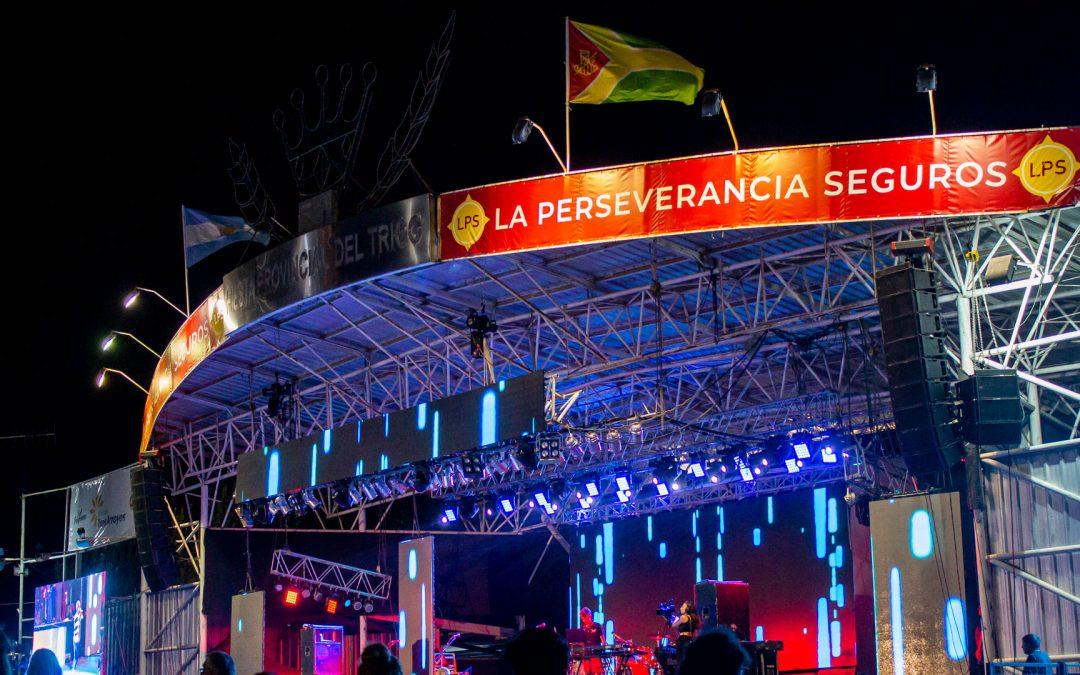 Escenario-mayor-Fiesta-Provincial-del-Trigo-LPS