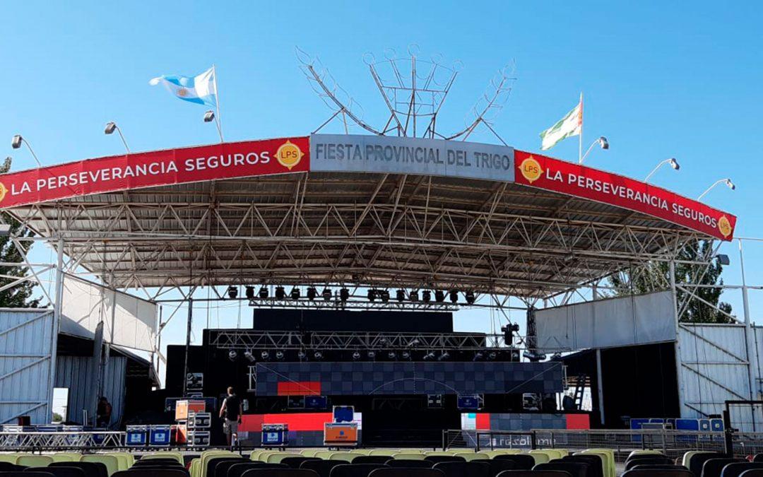 LPS Preparativos-Fiesta-del-Trigo Escenario