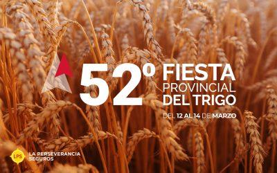 La Perseverancia Seguros presente en la 52º Fiesta Provincial del Trigo