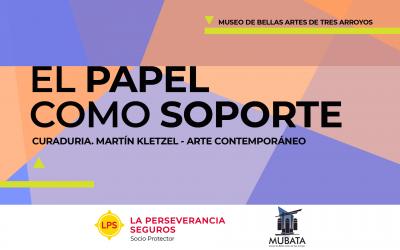 «El papel como soporte» en el Museo de Bellas Artes de Tres Arroyos
